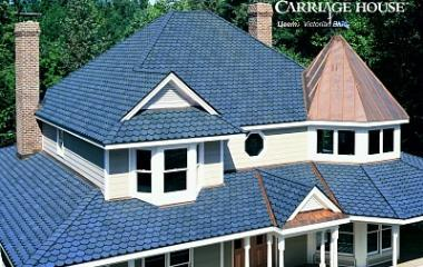 Гибкая черепица Certain Teed Carriage House Victorian Blue